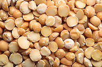 Lentil background - close up