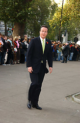 DAVID CAMERON at the wedding of Clementine Hambro to Orlando Fraser at St.Margarets Westminster Abbey, London on 3rd November 2006.<br />