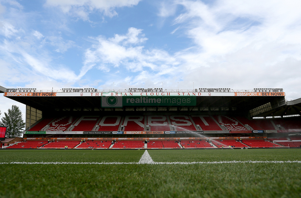 "General view of the City Ground before the pre-season match at The City Ground, Nottingham. PRESS ASSOCIATION Photo. Picture date: Saturday July 29, 2017. See PA story SOCCER Norwich. Photo credit should read: Richard Sellers/PA Wire. RESTRICTIONS: EDITORIAL USE ONLY No use with unauthorised audio, video, data, fixture lists, club/league logos or ""live"" services. Online in-match use limited to 75 images, no video emulation. No use in betting, games or single club/league/player publications."