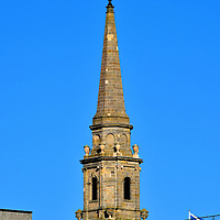 Tolbooth Steeple in Inverness, Scotland<br />