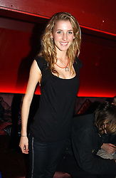 MISS AYESHA MAKIM niece of Sarah, Duchess of York  at an Easter party hosted by Charlie Gilkes under the umbrella of his new PR/Events Company; 'Chic Vie' at trendy South Kensington Nightclub; 'Boujis' that is a favourite with Princes William and Harry and a host of other celebrities on 21st March 2005. Guests enjoyed a fruit martini reception on arrival and danced the night away until the early hours<br /><br />NON EXCLUSIVE - WORLD RIGHTS