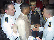 Nelly &amp; Eve with Navy Soldiers<br />Justin Timberlake &amp; Nelly&rsquo;s Post Grammy Party<br />Capitale Nightclub<br />Sunday, February 23, 2003.<br />New York, NY, USA<br />Photo By Celebrityvibe.com/Photovibe.com