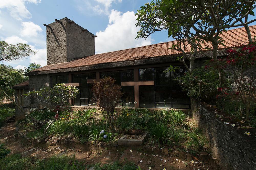 The Nazareth Chapel of the Good<br /> Shepherd Convent.<br /> Rasintha Wimalasena Mawatha, Bandarawela<br /> (northeast of the Bandarawela Hotel) 1965<br /> Geoffrey Bawa