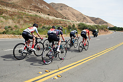 Lisa Klein (GER) in a small group at Amgen Tour of California Women's Race empowered with SRAM 2019 - Stage 3, a 126 km road race from Santa Clarita to Pasedena, United States on May 18, 2019. Photo by Sean Robinson/velofocus.com