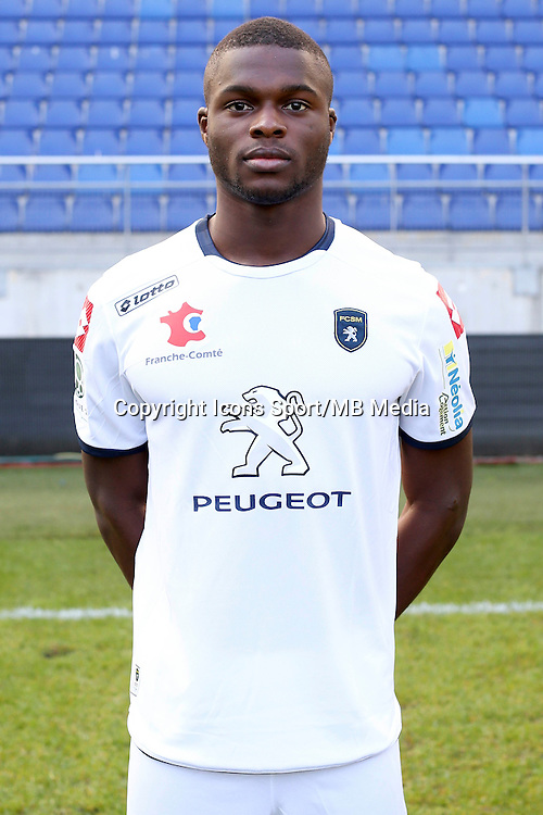 Hillel KONATE - 04.10.2014 - Photo officielle Sochaux - Ligue 2 2014/2015<br /> Photo : Icon Sport