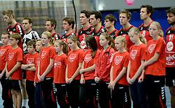 13-12-2014 NED: Prins VCV - Abiant Lycurgus, Veenendaal<br /> Lycurgus wint met 3-1 van VCV / 1 minuut stilte voor Jan van de Pol