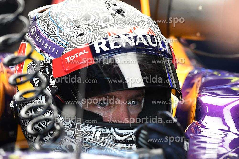 06.09.2014, Autodromo di Monza, Monza, ITA, FIA, Formel 1, Grand Prix von Italien, Qualifying, im Bild Sebastian Vettel (GER) Red Bull Racing RB10. // during the Qualifying of Italian Formula One Grand Prix at the Autodromo di Monza in Monza, Italy on 2014/09/06. EXPA Pictures &copy; 2014, PhotoCredit: EXPA/ Sutton Images<br /> <br /> *****ATTENTION - for AUT, SLO, CRO, SRB, BIH, MAZ only*****