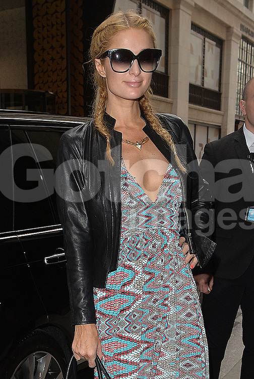 Paris Hilton out and about in London, UK. 26/04/2016<br />