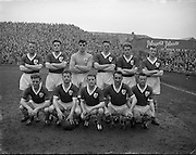 17/03/1959<br /> 03/17/1959<br /> 17 March 1959<br /> Soccer: League of Ireland v English League at Dalymount Park, Dublin. The Irish team.