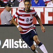 Clint Dempsey, USA, in action during the USA V Brazil International friendly soccer match at FedEx Field, Washington DC, USA. 30th May 2012. Photo Tim Clayton