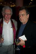 JON HALLIDAY; STEPHEN FREARS, BBC Four Samuel Johnson Prize party. Souyh Bank Centre. London. 15 July 2008.  *** Local Caption *** -DO NOT ARCHIVE-© Copyright Photograph by Dafydd Jones. 248 Clapham Rd. London SW9 0PZ. Tel 0207 820 0771. www.dafjones.com.