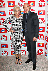 Denise Welch and Lincoln Townley arriving at the TV Choice Awards in London,Monday, 9th September 2013. Picture by Stephen Lock / i-Images