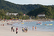Malaysia, Langkawi. Meritus Pelangi Beach Resort & Spa. The beach.