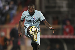 November 25, 2017 - Aves, Guimaraes, Portugal - Porto's Cameroonian forward Vincent Aboubakar during the Premier League 2017/18 match between CD Aves vs FC Porto at the Aves stadium in Vila das Aves on November 25, 2017. (Credit Image: © Dpi/NurPhoto via ZUMA Press)