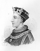 Henry V (16 September 1386 – 31 August 1422[1][2]) was King of England from 1413 until his death at the age of 35 in 1422. He was the second English monarch who came from the House of Lancaster.