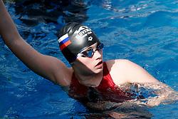 Sofija Djelic of Slovenia at swimming competition Ilirija 2005, on May 7, 2005, Ilirija Swimming pool, Ljubljana, Slovenia.  (Photo by Vid Ponikvar / Sportida)