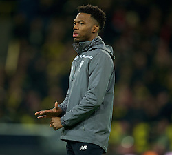 DORTMUND, GERMANY - Thursday, April 7, 2016: Liverpool's Daniel Sturridge before the UEFA Europa League Quarter-Final 1st Leg match against Borussia Dortmund at Westfalenstadion. (Pic by David Rawcliffe/Propaganda)