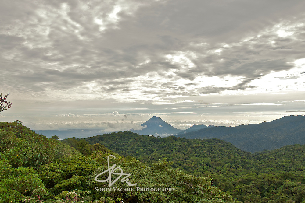 The Arenal Volcano Beyond the Monteverde Cloud Forest