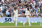 50 - Ben Stokes of England celebrates scoring a half century during the International Test Match 2019 match between England and Australia at Edgbaston, Birmingham, United Kingdom on 3 August 2019.