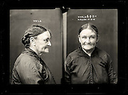The barber shop slasher, the back-street abortionist and the 'parasite in a skirt': Vintage Australian mugshots reveal some of the country's earliest women criminals<br /> <br /> Haunting images of the past have emerged, showing vintage black and white portraits of Australian women.<br /> But these are no ordinary women. These are the not-so-innocent faces of convicted criminals who were put behind bars from the 1880s to 1930s.<br /> Among them include the infamous razor gangster and prominent madam of the times - Matilda 'Tilly' Devine.<br /> Others include backyard abortionists, drug dealers and those convicted of bigamy, drunkenness and theft.<br /> most of them were sent to the State Reformatory for Women, Long Bay - south of Sydney - which is now known as Long Bay Correctional Complex.<br /> <br /> <br /> Photo shows:  Kate Ellick, criminal record number 448LB, 17 February 1919. State Reformatory for Women, Long Bay.<br /> <br /> Kate Ellick had no family to support her and no fixed address. In the early 20th century employment options were limited for women of her age and there was no aged pension. Ellick was homeless when arrested in Newcastle and was sentenced under the Vagrancy Act to three months in prison. DOB: 1860, Murrurundi.<br /> ©NSW Police Gazette/Exclusivepix