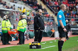 January 26, 2019 - Rotherham, England, United Kingdom - Marcelo Bielsa, manager of Leeds United during the Sky Bet Championship match between Rotherham United and Leeds United at the New York Stadium, Rotherham, England, UK, on Saturday 26th January 2019. (Credit Image: © Mark Fletcher/NurPhoto via ZUMA Press)
