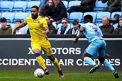 Alex Jakubiak of Bristol Rovers takes on Brandon Mason of Coventry City - Mandatory by-line: Robbie Stephenson/JMP - 07/04/2019 - FOOTBALL - Ricoh Arena - Coventry, England - Coventry City v Bristol Rovers - Sky Bet League One