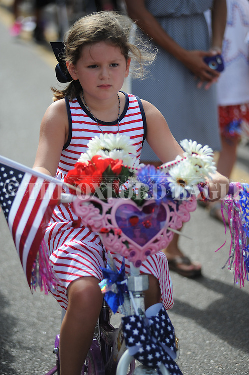 4th of July parade in Oxford, Miss. on Monday, July 4, 2016.