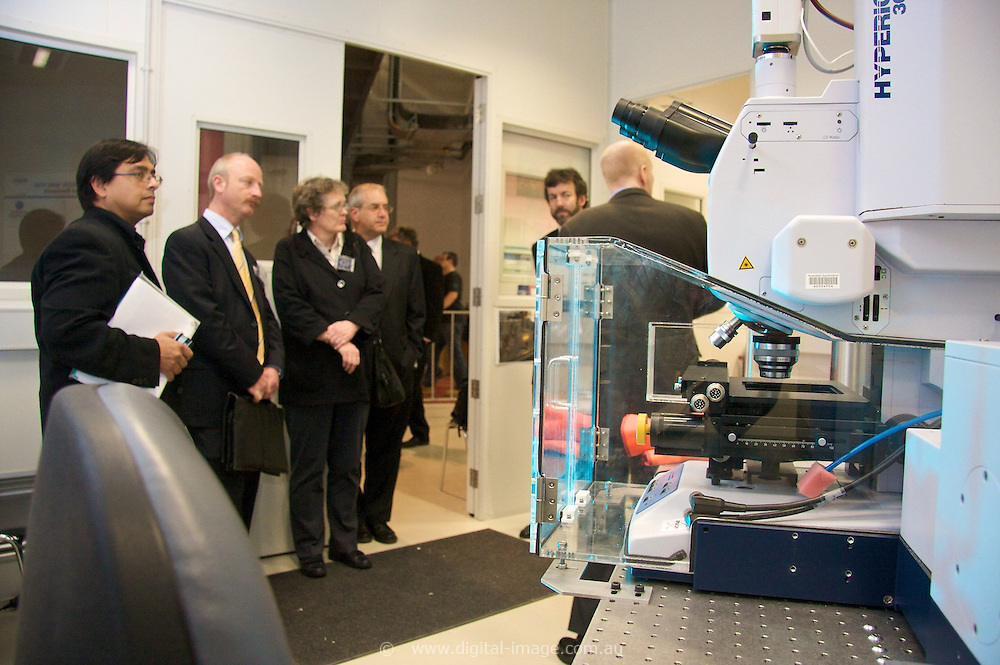 Australian Synchrotron, Science Advisory Committee during a tour of the facility