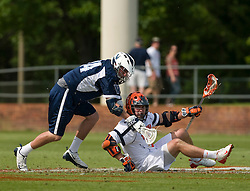 The #5 ranked Virginia Cavaliers defeated the #19 ranked Villanova Wildcats 18-6 in the first round of the 2008 NCAA Men's Lacrosse Tournament the University of Virginia's Klockner Stadium in Charlottesville, VA on May 10, 2009.