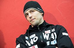 Ales Kranjc during first meeting of Slovenian Ice Hockey National Team for IIHF World Championships Ostrava 2015, on April 5, 2015 in Arena Podmezakla, Jesenice, Slovenia. Photo by Vid Ponikvar / Sportida