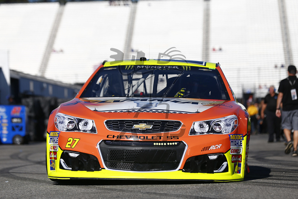 September 23, 2017 - Loudon, New Hampshire, USA: Paul Menard (27) takes to the track to practice for the ISM Connect 300 at New Hampshire Motor Speedway in Loudon, New Hampshire.