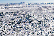 Dimmuborgir in north east iceland