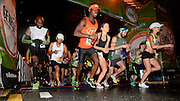 Runners start the Publix Georgia Marathon & Half Marathon at Dominique Wilkins Lane on Sunday, March 22, 2015, in Atlanta. David Tulis / AJC Special