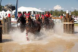 Voutaz Jerome, SUI, Belle du Peupe CH, Flore CH, Holliday, Leon<br /> World Equestrian Games - Tryon 2018<br /> © Hippo Foto - Dirk Caremans<br /> 22/09/2018