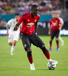 July 31, 2018 - Miami Gardens, Florida, USA - Manchester United F.C. defender Eric Bailly (3) controls the ball during an International Champions Cup match between Real Madrid C.F. and Manchester United F.C. at the Hard Rock Stadium in Miami Gardens, Florida. Manchester United F.C. won the game 2-1. (Credit Image: © Mario Houben via ZUMA Wire)