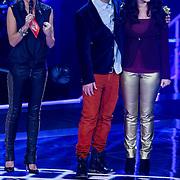 NLD/Amsterdam/20121130 - 4e liveshow The Voice of Holland 2012, Ivar Oosterloo, Wendy van Dijk, Anja Dalhuisen