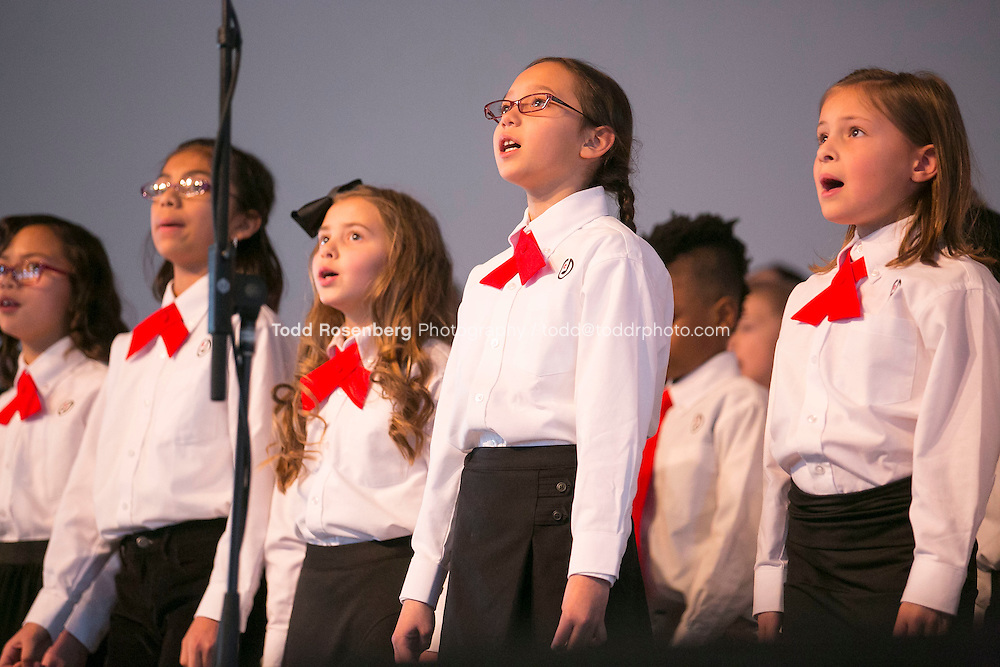 2/10/16 12:22:22 PM <br /> Chicago Children's Choir Black History Month Navy Pier Celebration. <br /> <br />  &copy; Todd Rosenberg Photography 2016