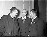 Labour - Unity Talks Between Congress of Irish Unions and IUC at 20 Parnell Square.07/01/1954