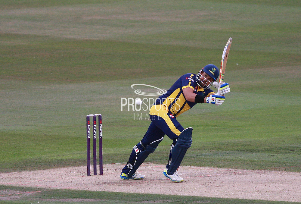 Jacques Rudolph during the NatWest T20 Blast South Group match between Sussex County Cricket Club and Glamorgan County Cricket Club at the BrightonandHoveJobs.com County Ground, Hove, United Kingdom on 10 July 2015. Photo by Bennett Dean.