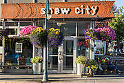 The popular Snow City Cafe, a well known diner and breakfast spot in downtown Anchorage, Alaska. The cafe, known for their cinnamon rolls was visited by President Barack Obama in 2015.