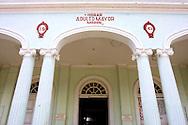 Building in Moron, Ciego de Avila, Cuba.