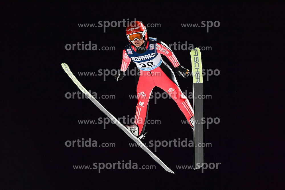 02.12.2016, Lillehammer, NOR, FIS Weltcup Ski Sprung, Lillehammer, Damen, im Bild Katharina Althaus (GER) // Katharina Althaus of Germany during Womens Skijumping Competition of FIS Skijumping World Cup. Lillehammer, Norway on 2016/12/02. EXPA Pictures &copy; 2016, PhotoCredit: EXPA/ Nisse<br /> <br /> *****ATTENTION - OUT of SWE*****