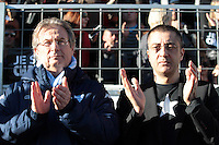 Jacky LORENZETTI / Mourad BOUDJELLAL - 10.01.2015 - Toulon / Racing Metro - 16e journee Top 14<br />