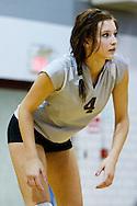 05 September 2009: #4 Chelsea MacDonald of the Genoa Comets during the Prep volleyball game between Genoa Comets and Northwood Rangers at Genoa High School Genoa, Ohio.
