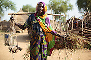 Elderly woman in the village of Game, Guera province, Chad on Tuesday October 16, 2012.