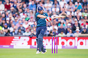 Picture by Allan McKenzie/SWpix.com - 19/05/2019 - Sport - Cricket - 5th Royal London One Day International - England v Pakistan - Emerald Headingley Cricket Ground, Leeds, England - England's Jonny Bairstow pulls a delivery.