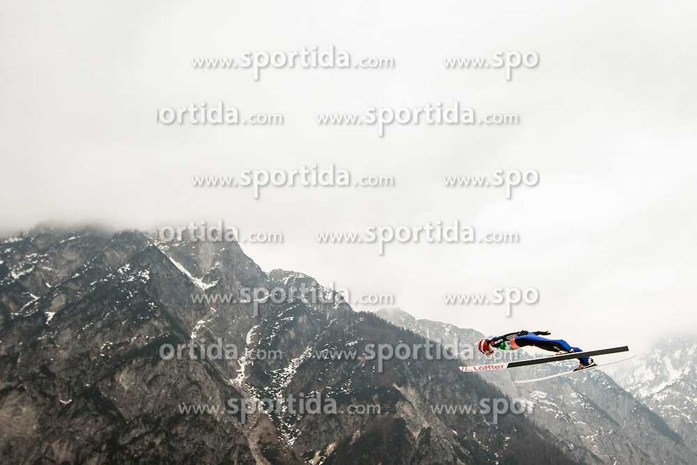 Karl Geiger (GER) during Ski Flying Hill Men's Individual Competition at Day 4 of FIS Ski Jumping World Cup Final 2017, on March 26, 2017 in Planica, Slovenia. Photo by Grega Valancic / Sportida