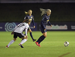 February 20, 2019 - Sheffield, United Kingdom - Manchester United's Alex Greenwood looks for the next pass during the  FA Women's Championship football match between Sheffield United Women and Manchester United Women at the Olympic Legacy Stadium, on February 20th Sheffield, England. (Credit Image: © Action Foto Sport/NurPhoto via ZUMA Press)