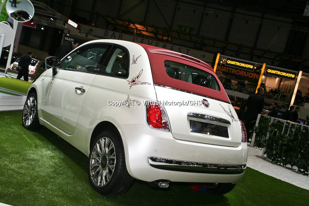 Fiat 500C, Geneva Motor Show 2009