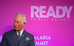 The Prince of Wales at the Malaria Summit in 8 Northumberland Avenue, London, during the Commonwealth Heads of Government Meeting.